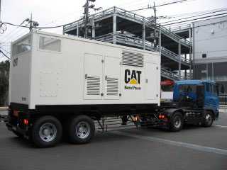 20ftコンテナ型 可搬式発電